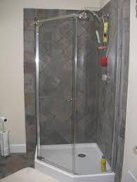 Bathroom Renovations For Small Bathrooms Corner Shower Stall Units Shower Enclosures Verona Circular Shower