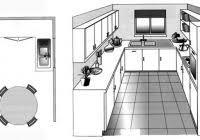plan de cuisine en u plan de cuisine amenagee cuisine gris et bois chaios