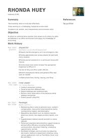Nursing Home Resume Examples by Winsome Dispatcher Resume 2 Dispatcher Resume Samples Resume Example