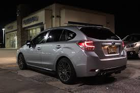 grey subaru crosstrek all we u0027ll drive hybrid tail lights on my u002712 impreza hatchback