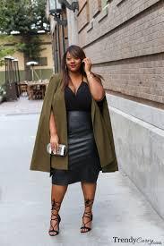 plus size fashion trendycurvy cape coat plus size fashion