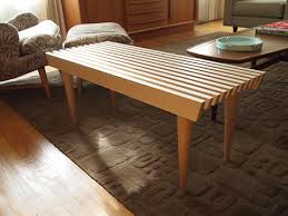 Nelson Bench Replica George Nelson Platform Bench Replica Cushion Ebay Style Slat