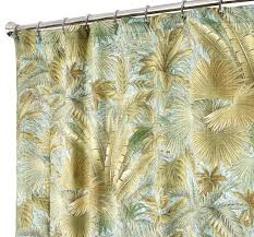 amazon com extra long shower curtains tommy bahama fabric green