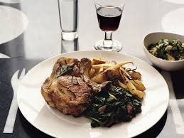 pork chops with roasted parsnips pears and potatoes recipe