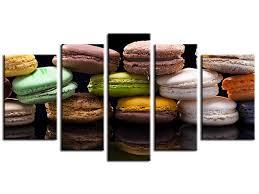 tableau theme cuisine davaus decoration cuisine theme macaron avec des idées
