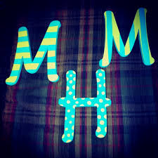 24 best letters images on pinterest painted letters letter art