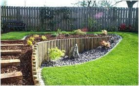 Landscaping Ideas For Sloped Backyard Backyard Landscaping Slope Large Image For Fascinating Landscape