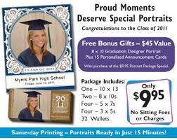 graduation packages portrait innovations graduation deal 7 extras included with 9 95