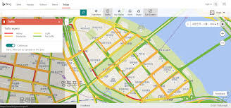 Maps Traffic 10원 Tips Bing Maps Shows Korean Traffic Congestion In Real Time