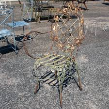 Antique Wrought Iron Outdoor Furniture by Impressive Vintage Wrought Iron 114 Vintage Wrought Iron Spiral