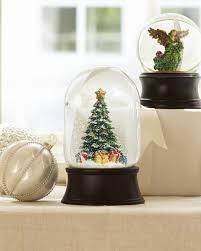 tree musical snow globe balsam hill