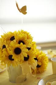 sunflower themed bridal shower sunflower party decorations