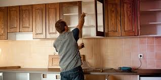 kitchen cabinet height from countertop how to determine installation height for kitchen cabinets