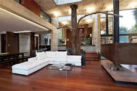 Wooden Living Room Designs - Wood living room design