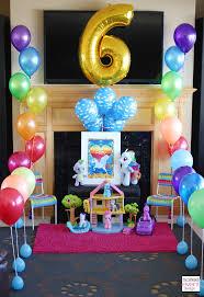 my pony decorations trend alert my pony rainbow party design tips part 1