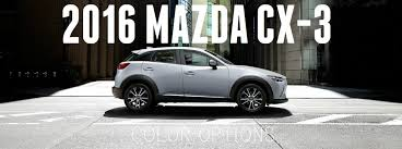 where does mazda come from mazda cx 3 color options