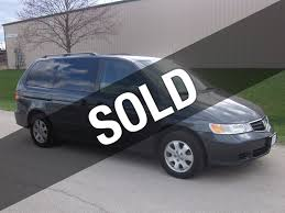 2003 used honda odyssey ex l at signature autos inc serving
