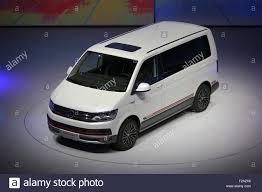 vw minivan 2015 frankfurt main germany 14th september 2015 the new vw multivan