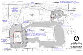 Community Center Floor Plan Proposal To Move Roeland Park Public Works Operations To Community