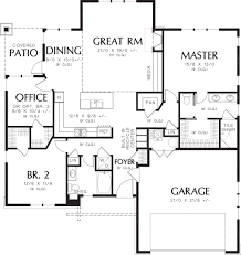craftsman style house plan 3 beds 2 00 baths 1641 sq ft plan 48 560