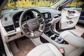 gmc terrain back seat first drive 2018 gmc terrain canadian auto review