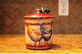 rooster kitchen canisters country rooster kitchen decor country kitchen canisters rooster