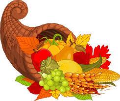 cornucopia thanksgiving clipart clipartxtras