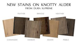 kitchen cabinet stain colors on alder cabinet finishes dura supreme cabinetry staining