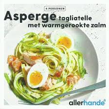 cuisine asperge free recipe cards allerhande asperge tagliatelle met