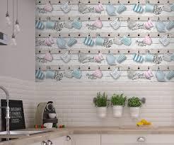 tapisserie cuisine faut il oser le papier peint en cuisine madame figaro
