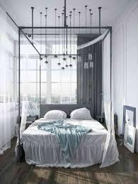 chambre d adulte lit baldaquin moderne pour chambre d adulte et d enfant