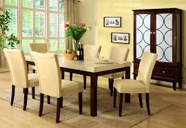 Furniture  Entrancing Marble Top Round Dining Table Circle Set - Glass top dining table hyderabad