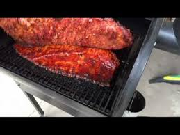 Country Style Ribs On Traeger - how to smoke spare ribs on a traeger smoker grill youtube