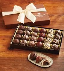 signature chocolate truffles gift box chocolate gifts harry david