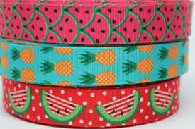 gross grain ribbon watermelon ribbon 7 8 grosgrain ribbon by the yard for hairbows