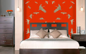 Chinese Bedroom Chinese Bedroom Stork Thierry Bisch Animal Painter Threatened Species