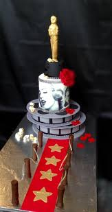 hollywood red carpet themed cake cakecentral com