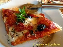 origan frais en cuisine pizza au levain kayser simplissime tomates confites mozza