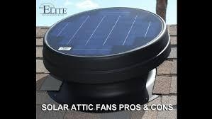 Solar Attic Fans Pros Cons Elite Solar Lighting Fans