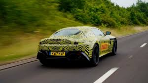slammed aston martin 2019 aston martin vantage teased debuts later this year