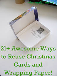 40 ingenious ways to reuse and recycle christmas cards u0026 wrapping
