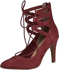 designer schuhe sale tamaris s 1 1 24418 36 549 closed toe pumps bordeaux