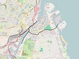 Copenhagen Map File Copenhagen Harbour Railway Png Wikimedia Commons