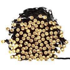 qedertek solar string lights 72ft 200 led 8 modes waterproof solar string fairy lights christmas