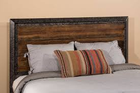 hillsdale mackinac headboard old black with driftwood 1858 hb