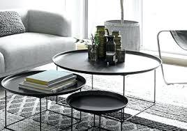 glass nesting coffee tables round nesting coffee table yannickmyrtil com