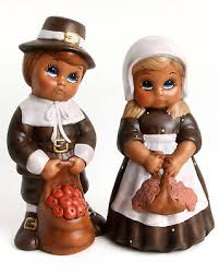 thanksgiving pilgrim figurines 10 inch thanksgiving pilgrims ceramic table ornaments husband and