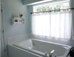curtain ideas for bathroom bathroom window curtains simplir me