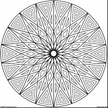 spectacular geometric coloring pages printable with