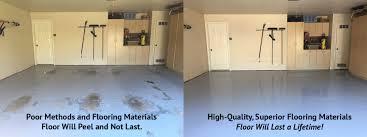 garage floor impressive garage floor coating dallas image